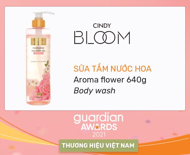 Sữa tắm nước hoa Aroma flower 640g