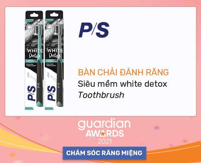 Bàn chải đánh răng siêu mềm white detox