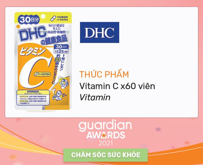 Thức phẩm vitamin C x60 viên